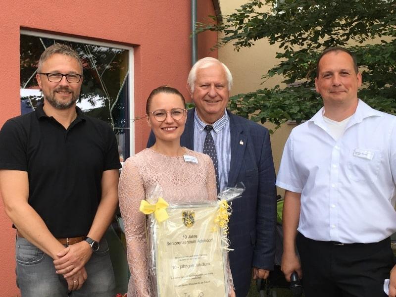 10jähriges Jubiläum des Seniorenzentrums in Adelsdorf
